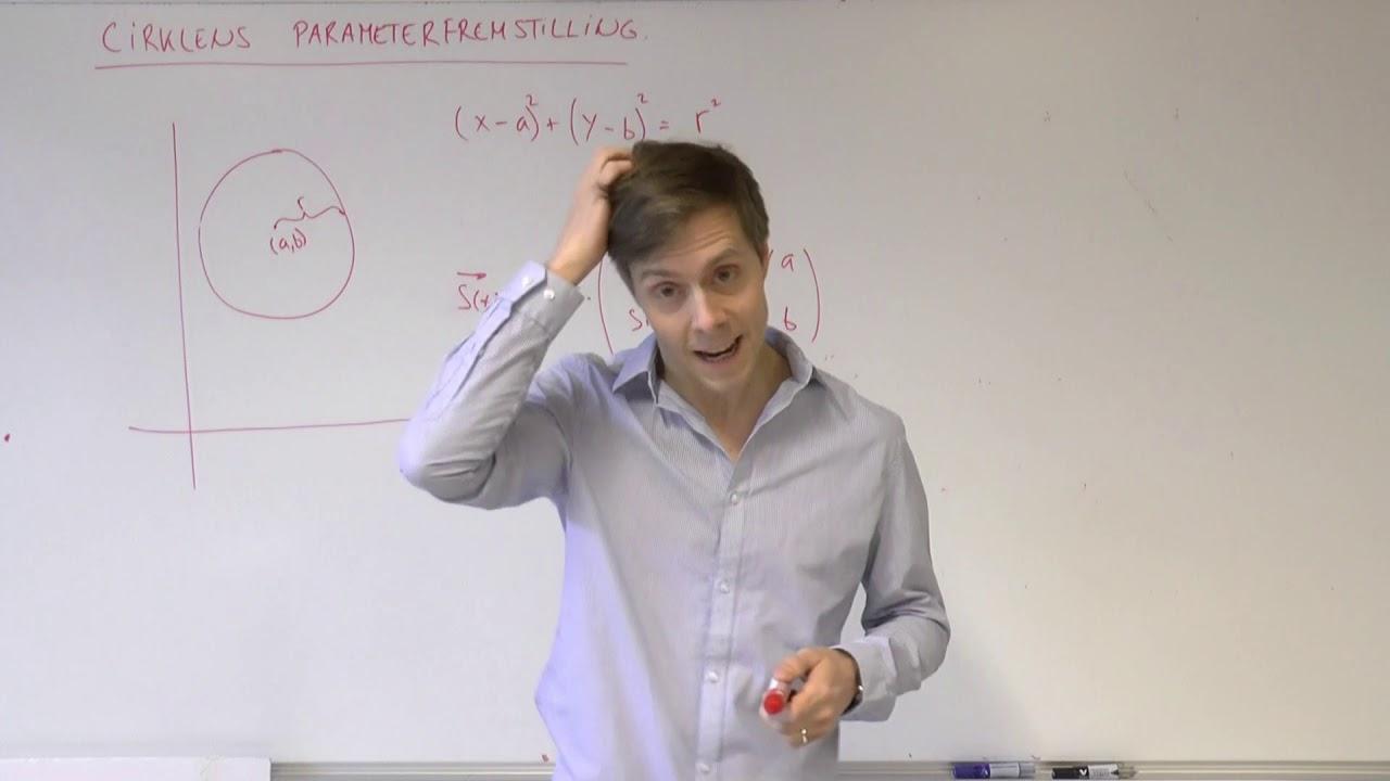 Cirklens parameterfremstilling
