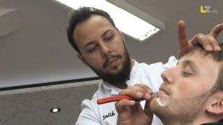 Trendberuf: LZ besucht Salih der Barbier in Lemgo