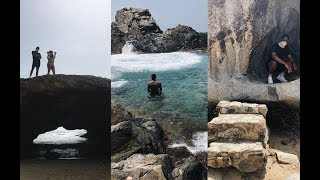 CLIFF JUMPING IN ARUBA TRAVEL VLOG