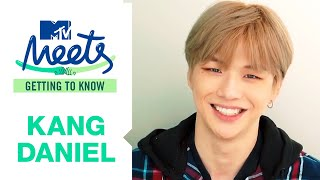 Kang Daniel Reveals He Secretly Sneaks Around In His Fan Sites | MTV Meets