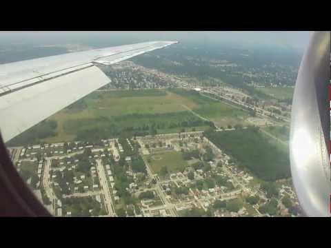 Delta Airlines DC-9-51 Landing MKE-DTW  Pt. 2/2