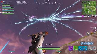 Rocket Launches and Cracks the Dome in Fortnite!