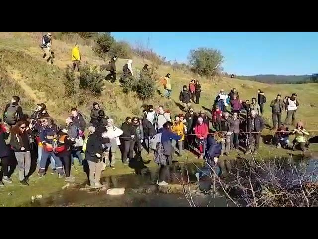 İki Deniz Arasında Yaşam Var: Kanal İstanbul'a Karşı 11 Km Yürüdüler