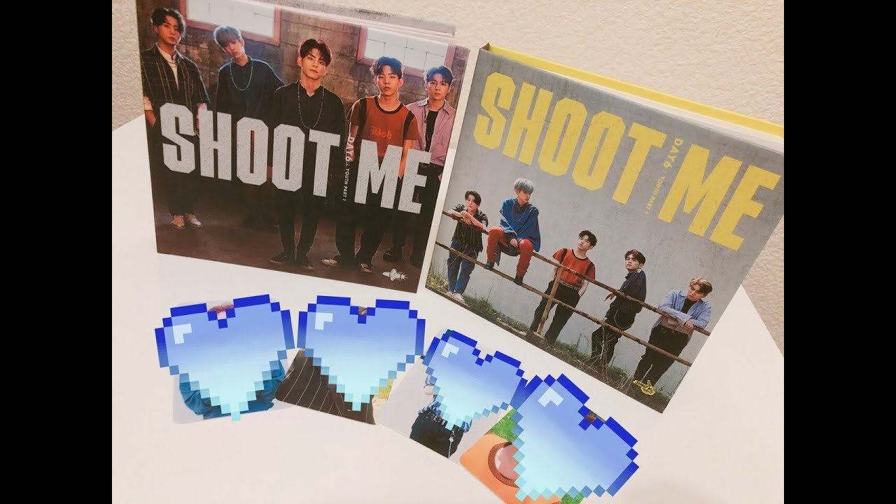 Unboxing Day6 Shoot Me Youth Part 1 Album Bullet Ver Trigger Ver
