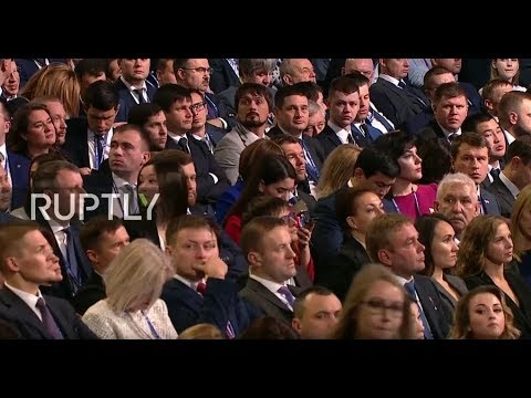 LIVE: Putin holds speech at United Russia party congress (ENG) Mp3