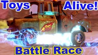 Cars 2: The video Game - Mater - Battle Race on Canyon Run.