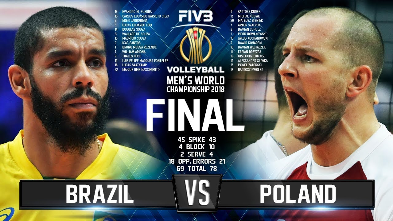 Download Brazil vs. Poland | FINAL |  Mens World Championship 2018
