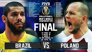 Brazil vs. Poland | FINAL |  Mens World Championship 2018