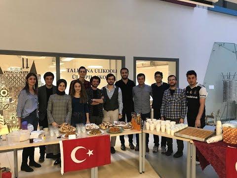Erasmus Tallinn-Turkish Food |Yabancılara Türk Mutfağını Tanıttık ÖDÜL ALDIK