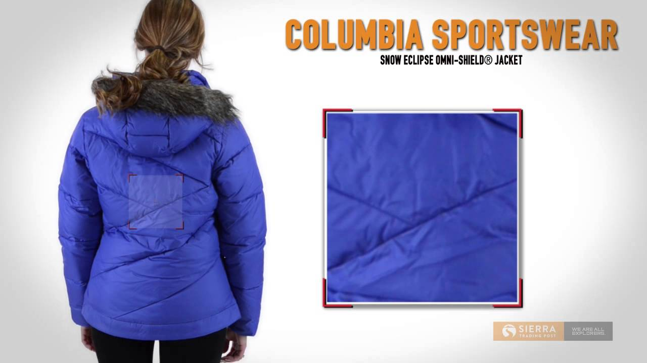 Columbia Sportswear Snow Eclipse Omni-Shield® Jacket - Insulated (For Women) 82fce3355