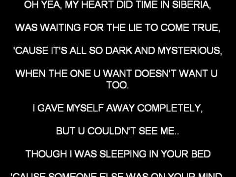 SIBERIA BY BACKSTREET BOYS KARAOKE VIDEO