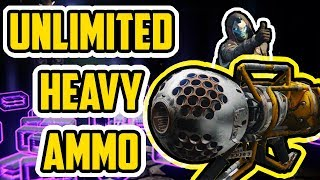 UNLIMITED HEAVY AMMO GLITCH - MUST SEE @bungie