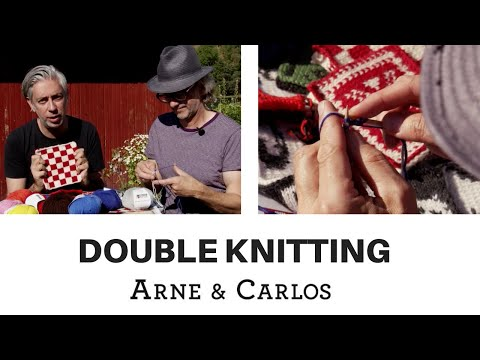 Double knitting - how to knit 2 layers at the same time by ARNE & CARLOS