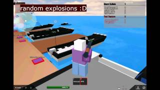 Seekrieg in Roblox