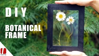How To Make Pressed Flowers Frame!