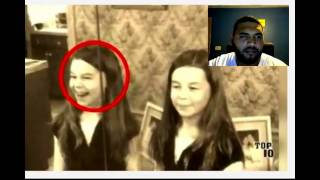 Top 10 Scary Things Hidden In Pictures – Part 5 :REACTION