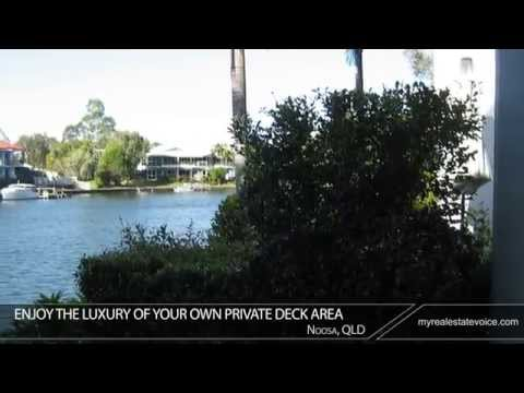 Waterside Townhouse Fully Furnished Property for Sale - Noosa, QLD