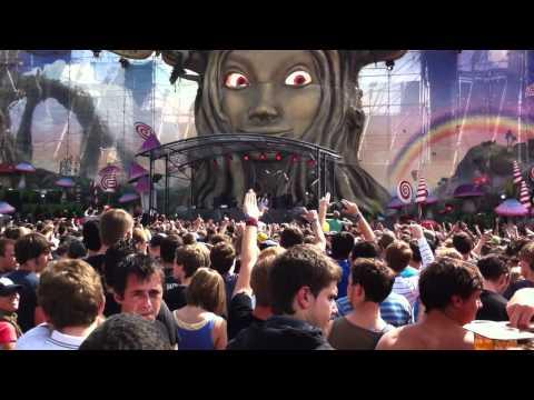 Steve Aoki WARP 19  @ Tomorrowland 2372011