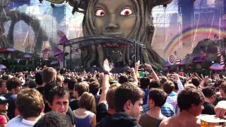 Steve Aoki WARP 1.9 Live @ Tomorrowland 23-7-2011
