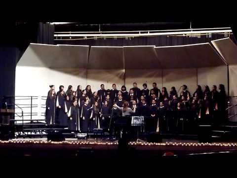 Almond Tree Middle School Choir El Est Ne, Le Divin Enfant
