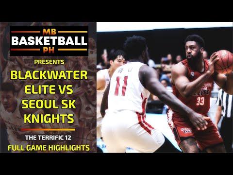 THE TERRIFIC 12: Blackwater Elite vs Seoul SK Knights Full Game Highlights