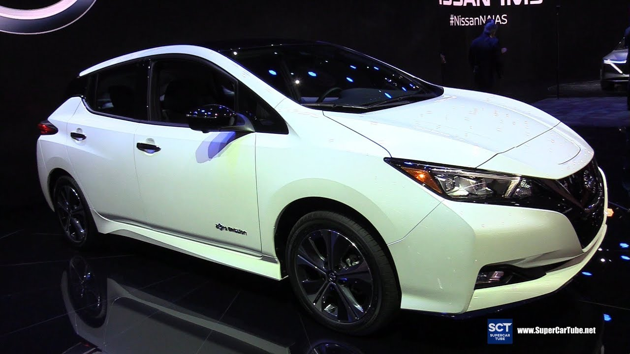 2020 Nissan Leaf Exterior And Interior Walkaround Debut At 2019 Detroit Auto Show Youtube