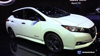 2020 Nissan Leaf - Exterior and Interior Walkaround - Debut at 2019 Detroit Auto Show