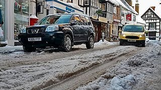 UK Snow live stream. The snow has frozen and it is very cold. Live ...