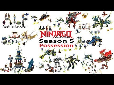 Lego Ninjago Season 5 Possession Compilation of all Sets