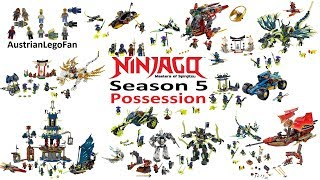 All Lego Ninjago Season 5 Possession Sets 2015 - Lego Speed Build Review