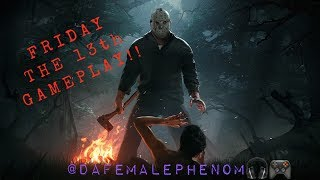 Friday The 13th Gameplay on New Xbox  !!!!