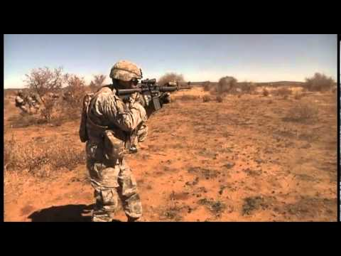 U.S. Army Forces and Botswana Defense Forces Conduct Live Fire Training