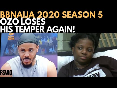 BBNAIJA 2020: OZO LOSES HIS TEMPER AGAIN   DORATHY IS SICK   PRINCE WINS ARENA GAMES from YouTube · Duration:  10 minutes 56 seconds