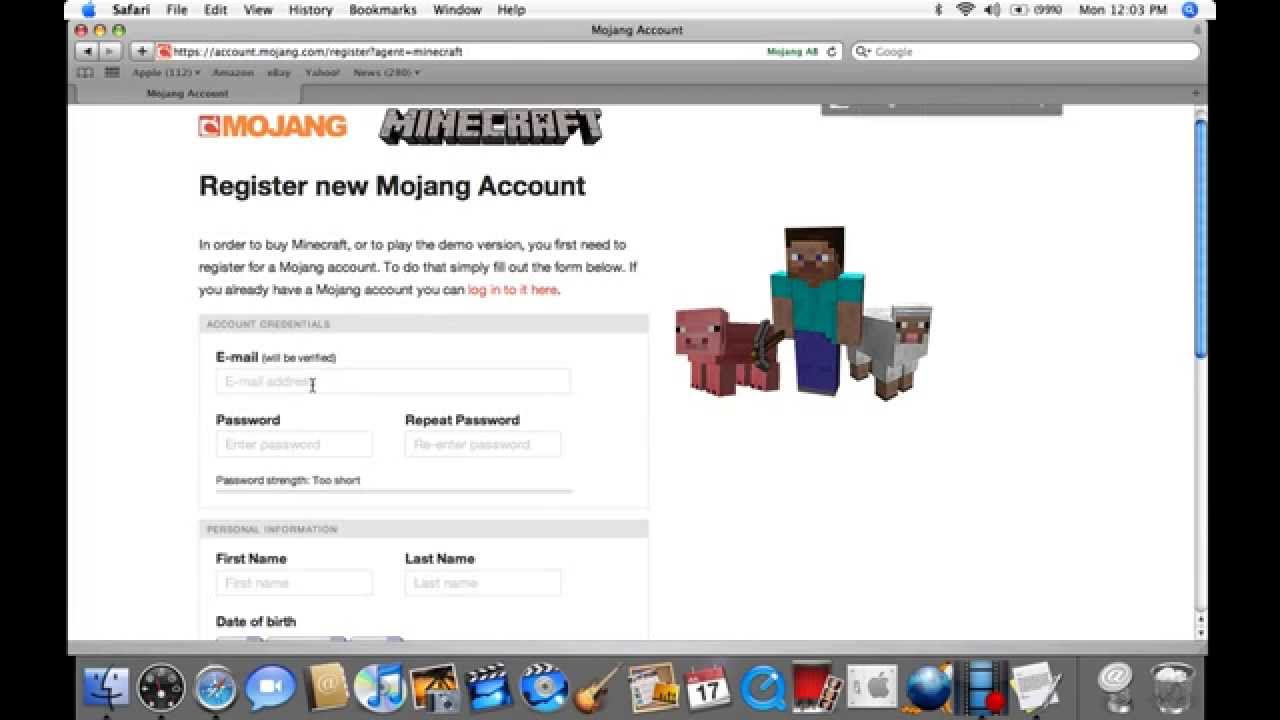 minecraft how to create a copy