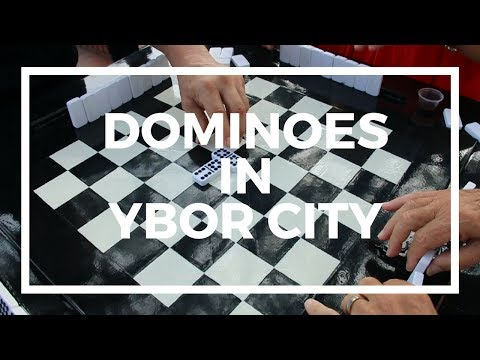 Domino Table in Ybor City