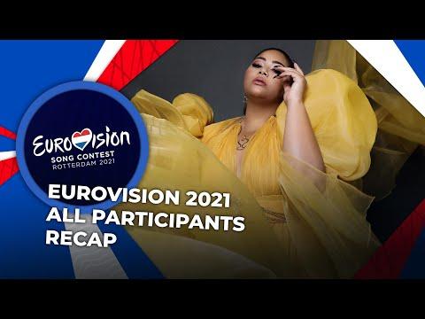 Eurovision 2021 | All Participants | RECAP