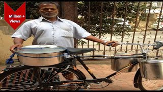 Hard working selling Idli on cycle 😱😱| Street food