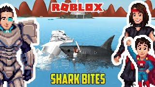 Roblox: OUR SON IS A SHARK AND HE EATS US