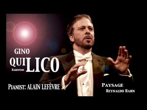 Gino Quilico - Hahn - Paysage