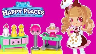 Shopkins Happy Places • Kitty Diner Party • Mebelki do domku