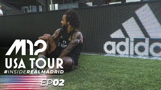 M12 USA Tour 2019 // Inside Real Madrid // D.C. Day 2