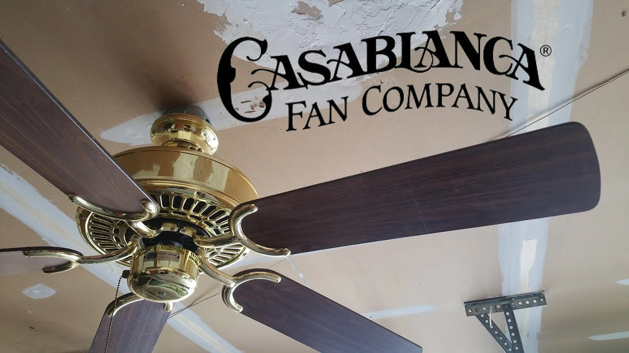 Casablanca first home ceiling fan youtube casablanca first home ceiling fan aloadofball Choice Image
