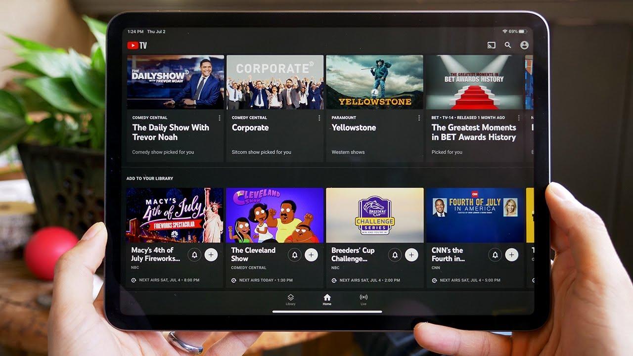 Cara Menampilkan YouTube TV ke Smart TV dari HP