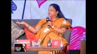 Repeat youtube video Sibal asks Raje: Does anybody know what Modinomics means?