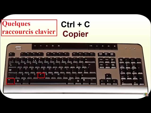 Raccourcis Clavier. Part1: traitement de texte