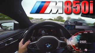 BMW M850i    Pushing on German Autobahn✔