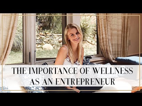 THE IMPORTANCE OF WELLNESS  (& TIME OFF) FOR ENTREPRENEURS | Natalie Elizabeth Ellis
