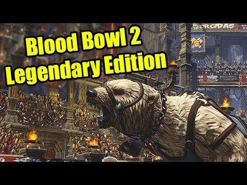 Blood Bowl 2: Legendary Edition Beta with Crendor (Slann/Kislev vs Amazons)