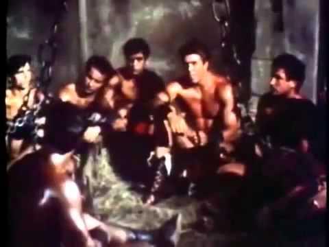 Spartacus and the Ten Gladiators 1964 Dan Vadis, Helga Liné, Ivano Staccioli   Sword and Sandal