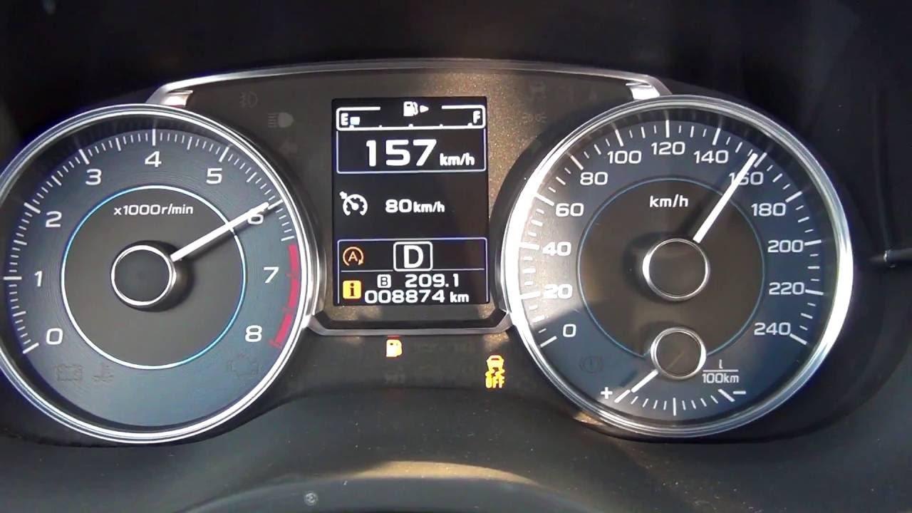 2016 Subaru Crosstrek 2.0 I Premium >> Subaru XV 2.0 150KM Lineartronic - acceleration 0-160 km/h